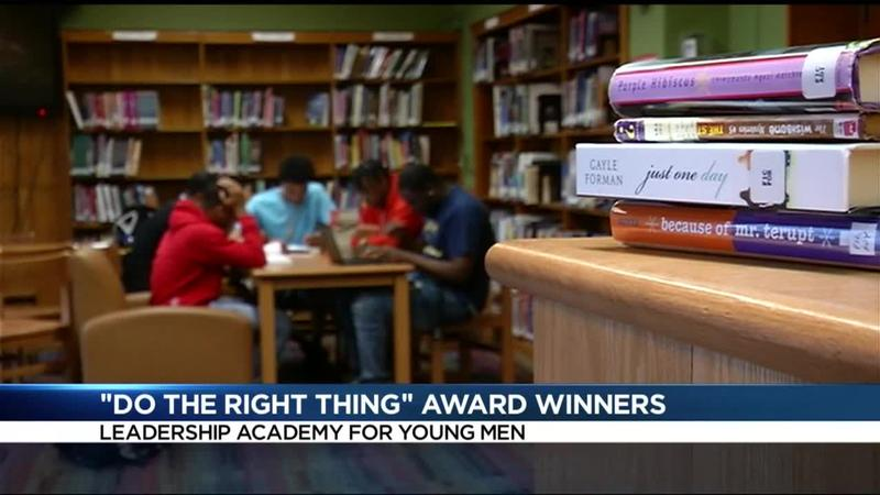 Do the Right Thing award winners: 3 young men jump into action to help man to safety