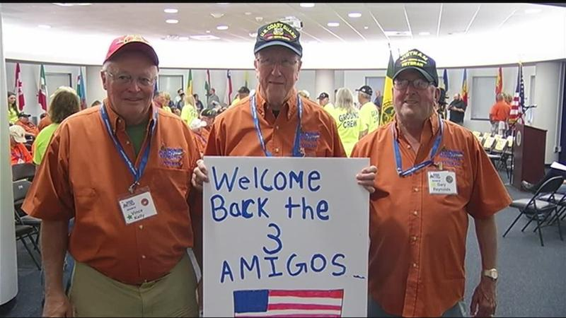 Honor Flight returns home on Father's Day