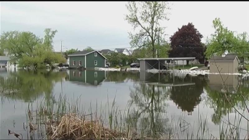 Local leaders call for federal help with high water levels