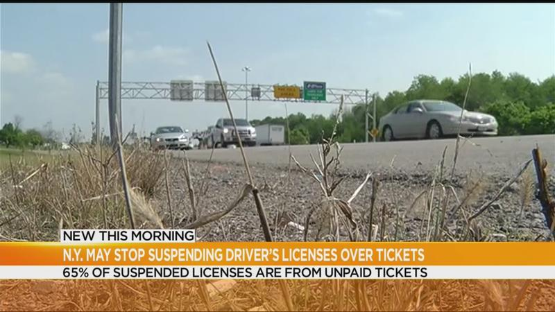 NY lawmakers consider ending license suspensions for unpaid traffic tickets