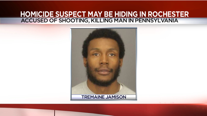 US marshals: Man wanted for homicide may be hiding in Rochester