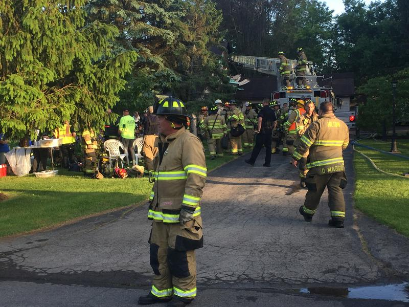Home in Parma damaged by fire