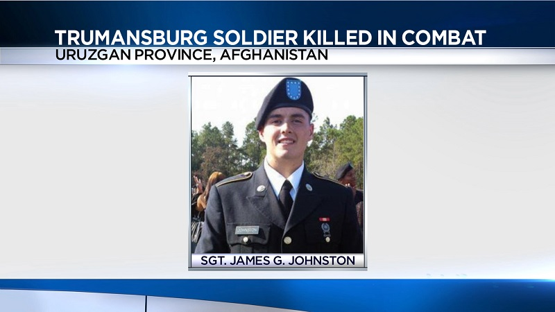 Trumansburg soldier killed in Afghanistan