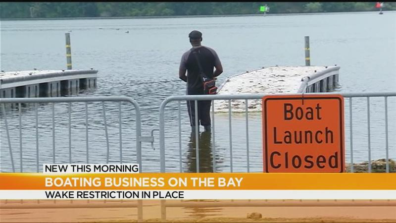 Boat rental business staying afloat ahead of holiday weekend despite high lake levels