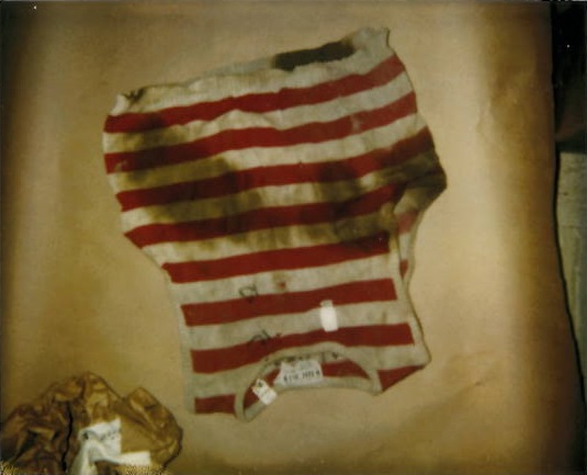 News10NBC obtained pictures of the clothes KrsiO'Connell was wearing when she was killed—a red and white striped shirt and white capri-like pants.