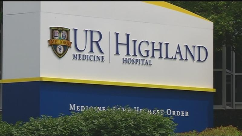 Police respond to robbery at credit union inside Highland Hospital