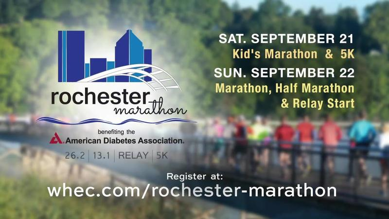 Run the ROC with News10NBC for Rochester Marathon weekend