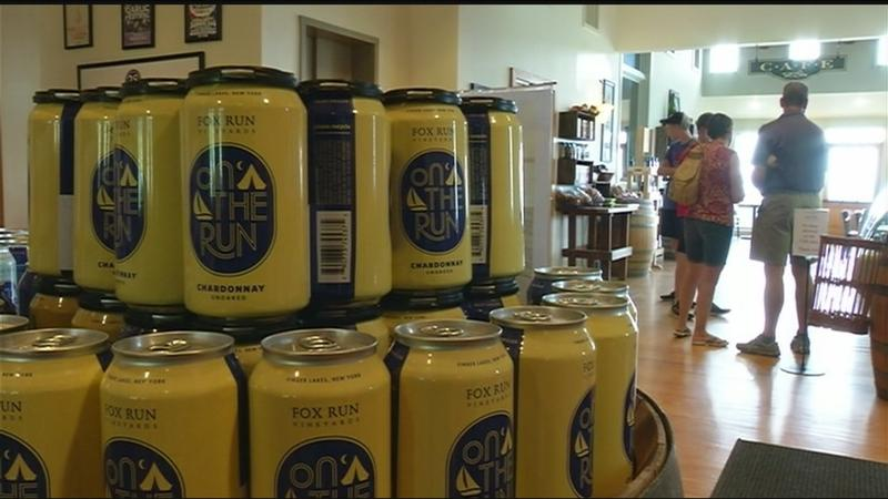 Schumer, wineries call for end to restrictions on wine in cans