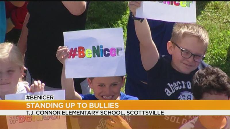 Sixth-grader says #BeNicer, even to bullies