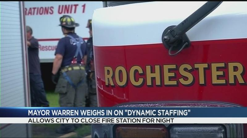 Union denies mayor's claim fire stations are already going dark during the day