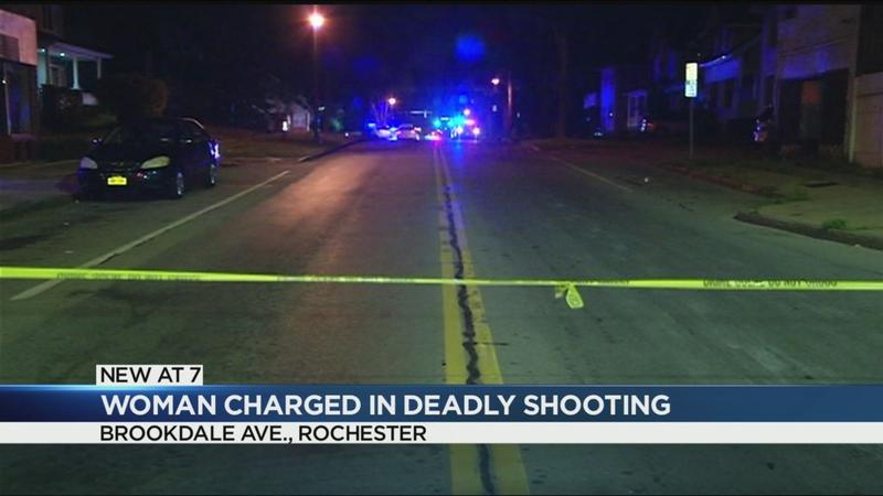 Woman charged in deadly Brookdale Avenue shooting