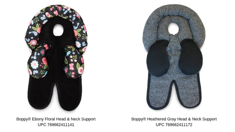 Infant head and neck accessories recalled due to suffocation hazard