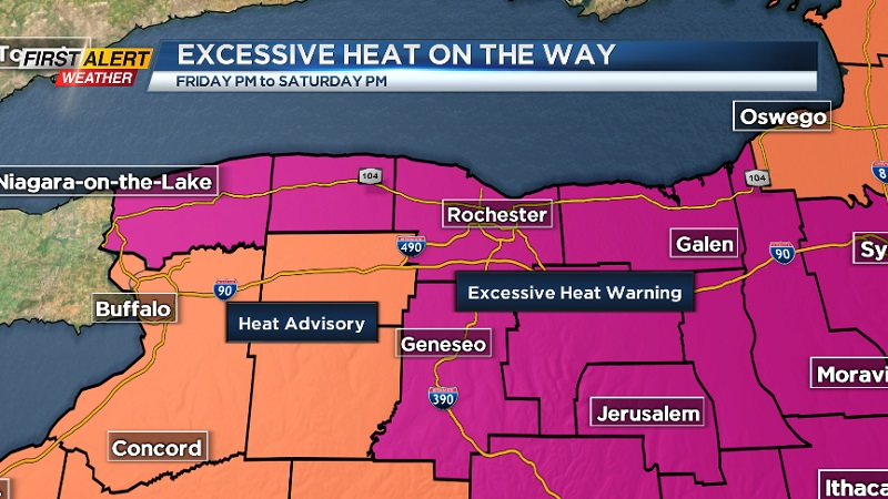 Mayor declares heat emergency for Friday, Saturday