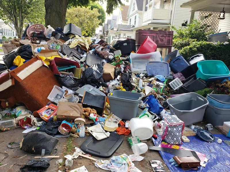 City of Rochester to take control of abandoned, trash-filled home Friday