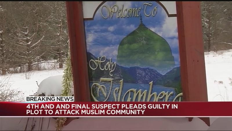 Fourth and final suspect pleads guilty in plot to attack Muslim community