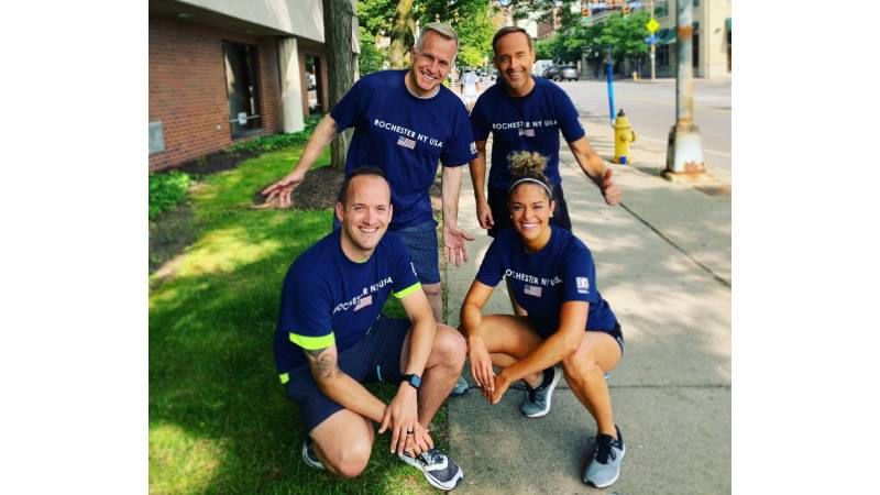 Team News10NBC begins training for Rochester Marathon