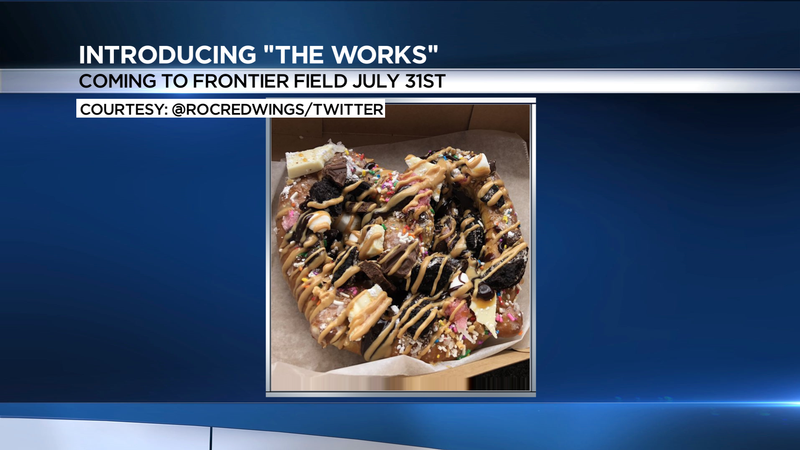Attention foodies! It's sweet, savory...and it's coming to Frontier Field