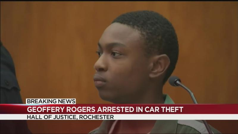 Aspiring teen journalist accused of stealing unmarked Rochester police car