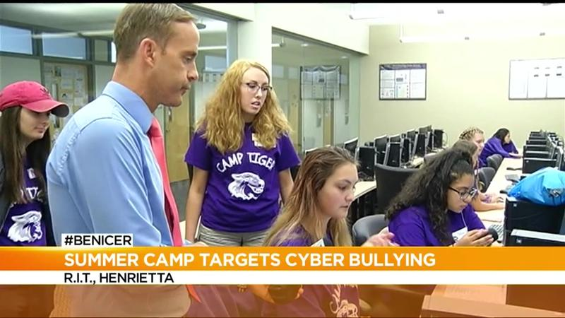 #BeNicer: Girls spend summer at RIT combating cyberbullying