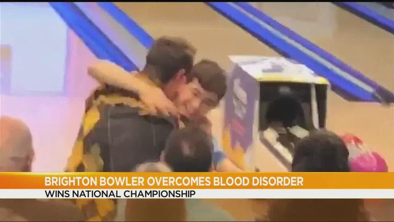 Brighton bowler overcomes blood disorder to win national championship