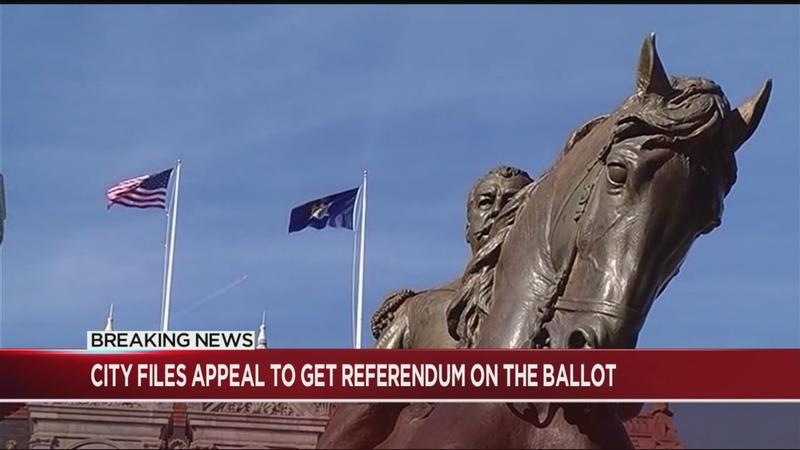 City files appeal on referendum decision