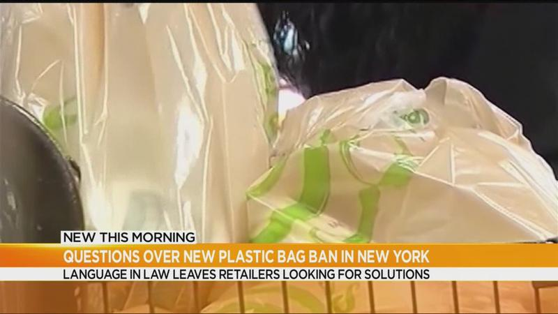 Confusion over what's legal under NY plastic bag ban