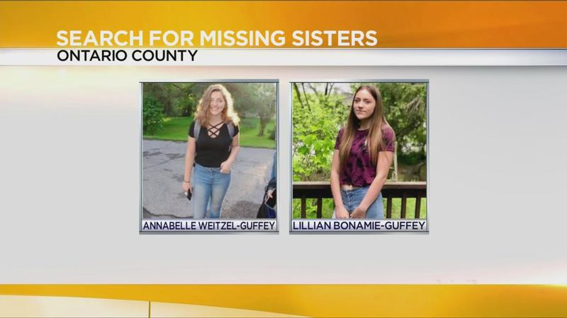 Deputies looking for missing sisters who ran away from Honeoye Falls