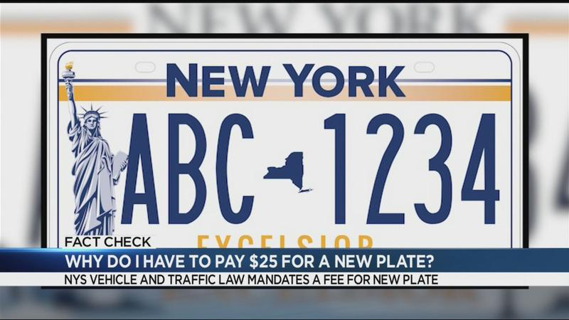 Fact Check: The top 5 questions and answers about the new $25 New York State license plate