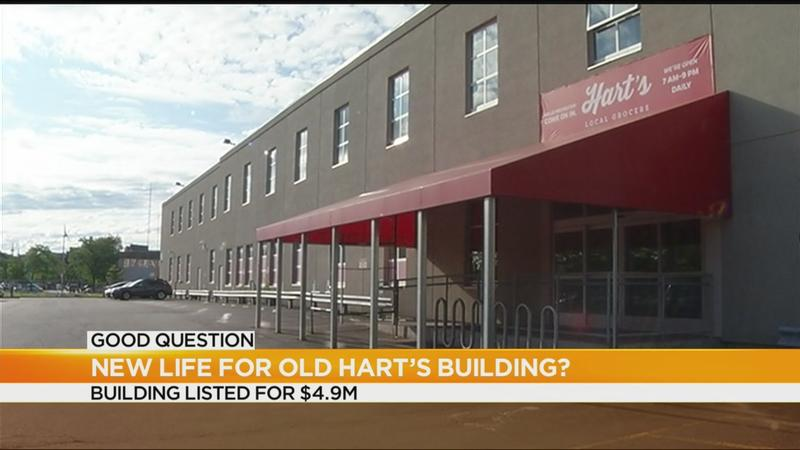 Good Question: New life for former Hart's building?