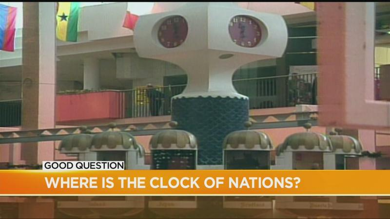 Good Question: What happened to the Clock of Nations?