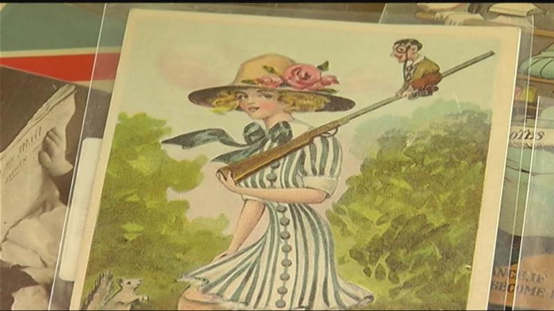 Local author uses postcards to illustrate women's suffrage movement