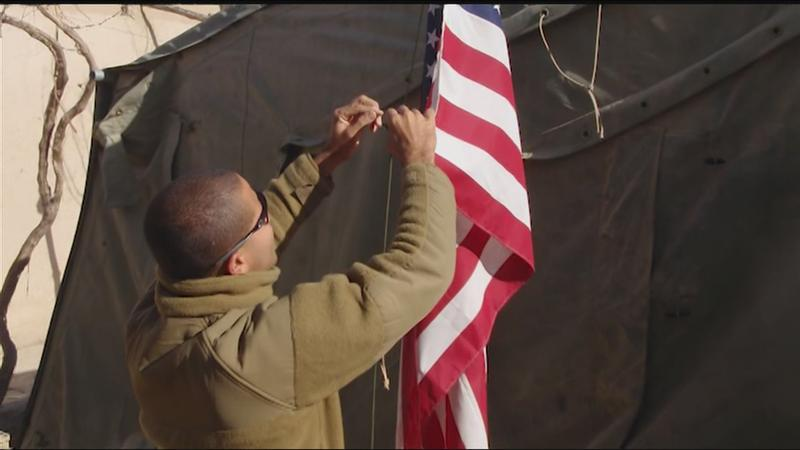 Puerto Rican Festival flag honors local Marine killed in action