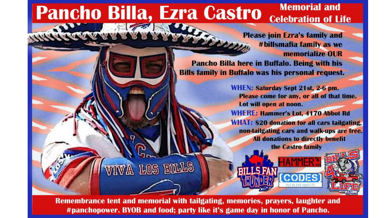 Family Plans Celebration Of Life For Pancho Billa In Buffalo