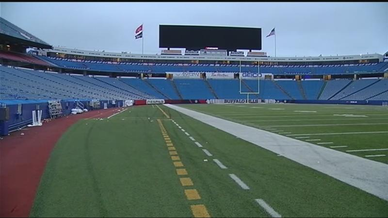 Bills reminding fans about changes to mobile ticketing