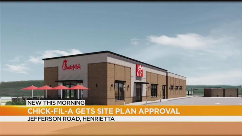 Chick-fil-A site plan approved in Henrietta