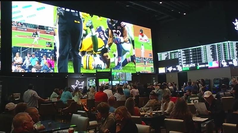 Upstate casinos see record revenue from first week of NFL action