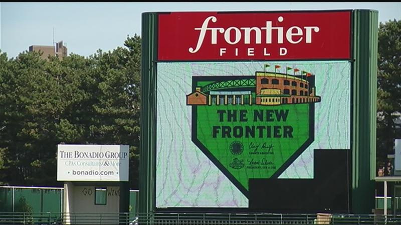 Frontier Field set for makeover
