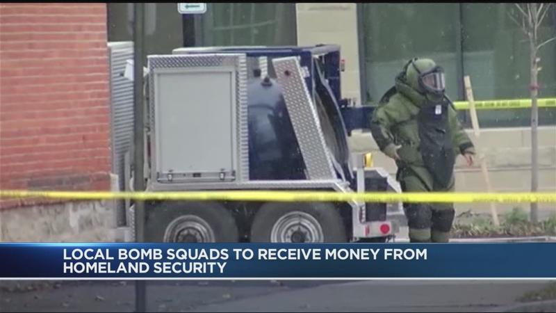 12 bomb squads in New York share $2 million federal grant