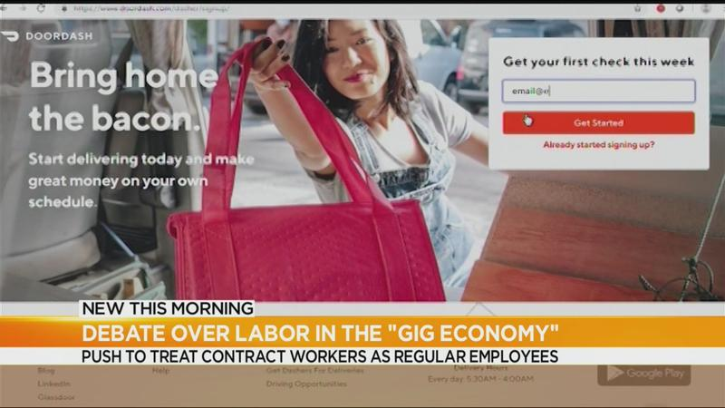 New York lawmakers consider reshaping labor laws in gig economy