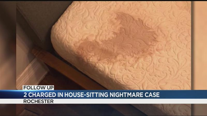 Pair arrested in house-sitting nightmare case