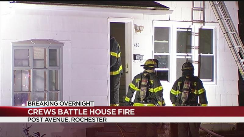 RFD: Materials inside vacant house may have caused fire on Post Avenue
