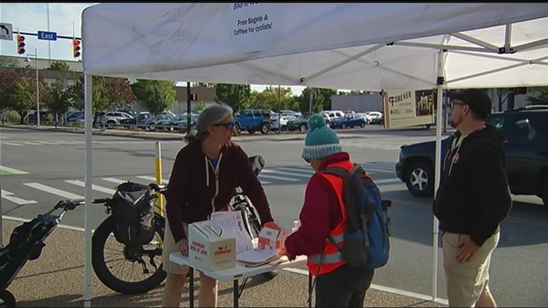 Reconnect Rochester rewards cyclists for biking to work