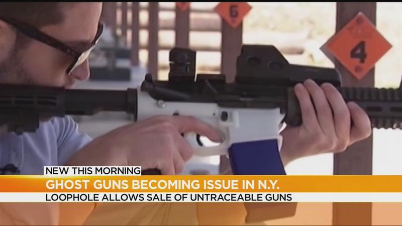 Report: 'Ghost guns' becoming more common in NY