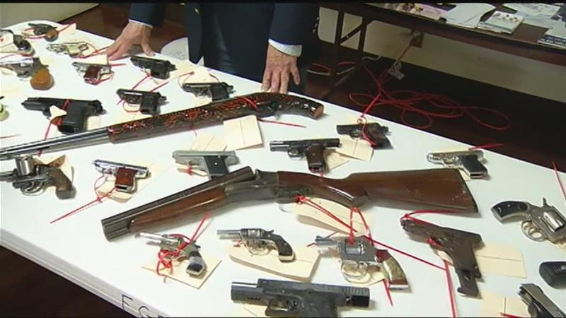 Shooting victims remembered as gun buyback is held