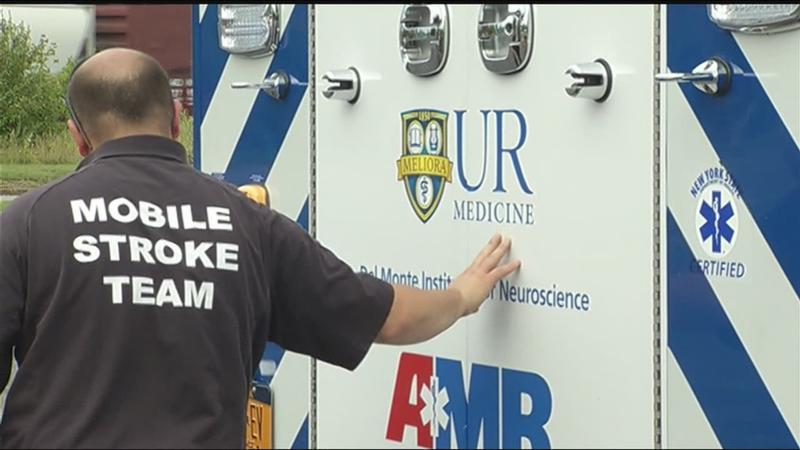 Year into operation, mobile stroke unit to visit News10NBC Health and Wellness Expo