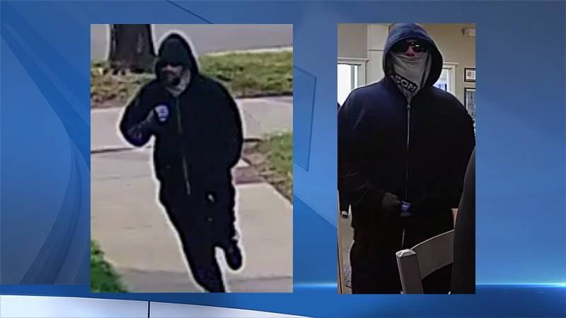 Rochester Police search for Alexander Street bank robbery suspect