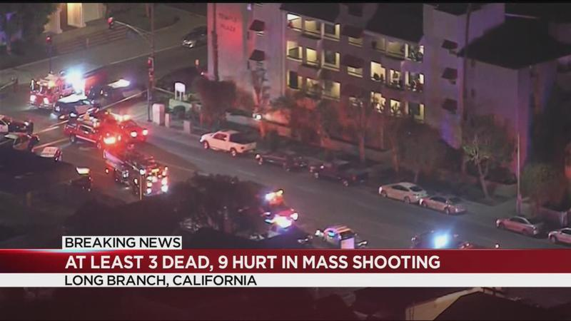 3 killed, 9 injured in Long Beach shooting at California home
