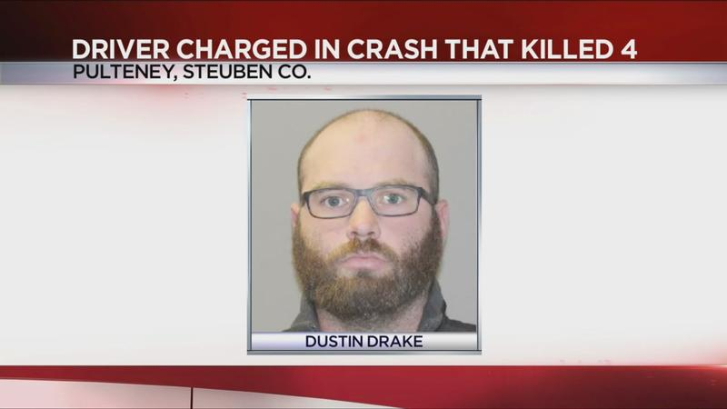 Driver charged with aggravated vehicular homicide, DWI in crash that killed 4