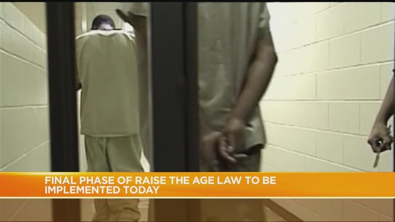 Final phase of Raise the Age law goes into effect