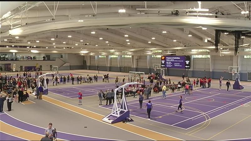 Nazareth College dedicates Golisano Fitness Center